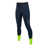 Mystic - Diva Navy Lime Womens Neoprene Leggings