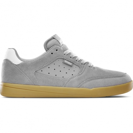 Etnies Veer Skate Shoes Grey and Gum