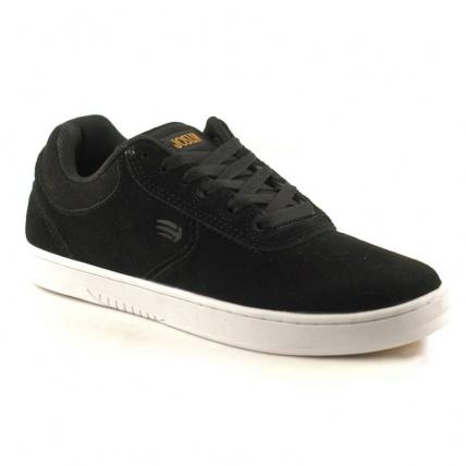 Etnies Joslin Skate Shoes Black White and Gum