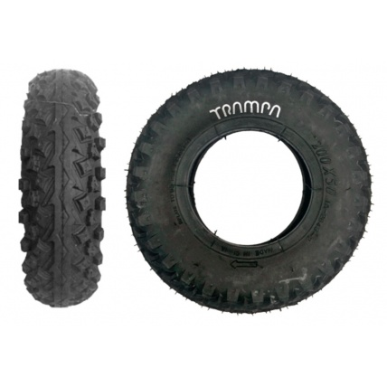 Trampa Innova Mud Plugger Tyre Side and Front