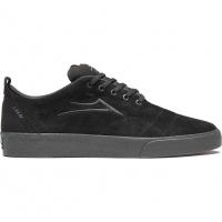 Lakai - Bristol Black Suede Skate Shoe