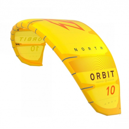 North Kiteboarding Orbit Kitesurfing Kite yellow