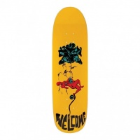 Welcome Skateboards - Lessrach on Atheme Skate Deck 8.8in