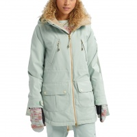 Burton - Prowess Aqua Gray Revel Stripe Wmns Snow Jacket