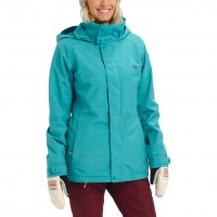 Burton - Jet Set Green Blue Space Dye Wmns Snow Jacket