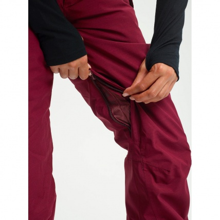 Society Port Royal Heather Wmns Snow Pants zippered vents