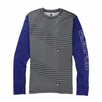 Burton - Midweight Base Layer Crew Spun Out Royal Blue