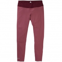 Burton - Womens Midweight Base Layer Pant Rose Brown