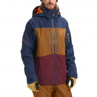 Burton - AK GORE-TEX Swash Dress Blue Monks Robe Mens Jacket