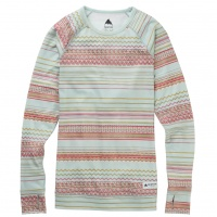 Burton - Womens Lightweight Base Layer Crew Aqua Gray