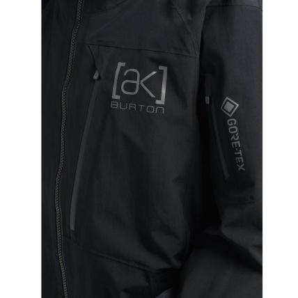 Burton AK GORE-TEX Cyclic Orange Snowboard Jacket detail