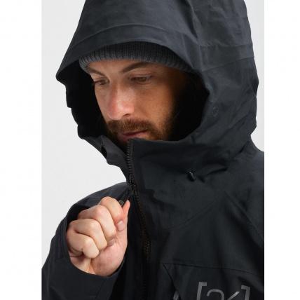 Burton AK GORE-TEX Cyclic Orange Snowboard Jacket hood