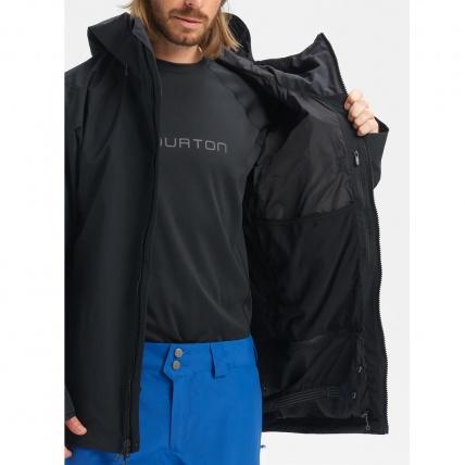 Burton AK GORE-TEX Cyclic Orange Snowboard Jacket inside