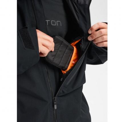 Burton AK GORE-TEX Cyclic Orange Snowboard Jacket thermo media pocket