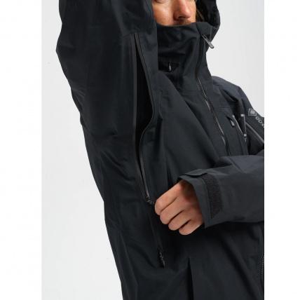 Burton AK GORE-TEX Cyclic Orange Snowboard Jacket pit vents