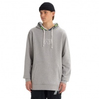 Burton - Analog Crux Pullover Grey Heather DWR Hoodie