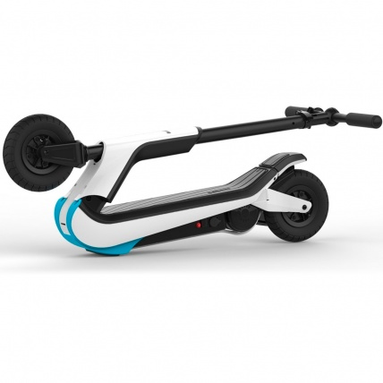 JD Bug Electric Fun Series Scooter White Folded