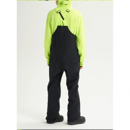 Analog Ice Out True Black Mens Snowboard Bib Pant back