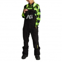 Analog - Ice Out Black Mens Snowboard Bib Pant