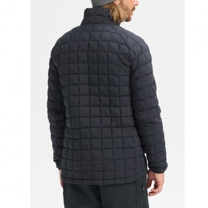 Burton AK BK Lite Down Jacket True Black Mens Insulator back