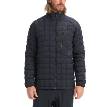 Burton AK BK Lite Down Jacket True Black Mens Insulator front