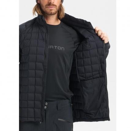 Burton AK BK Lite Down Jacket True Black Mens Insulator inside