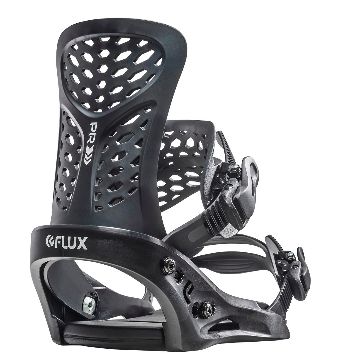 Flux PR Black Snowboard Bindings