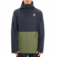 686 - Foundation Insulated Navy Colourblock Jacket