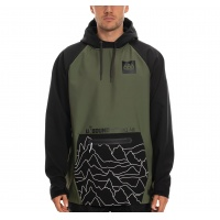 686 - Waterproof Hoody Surplus Green