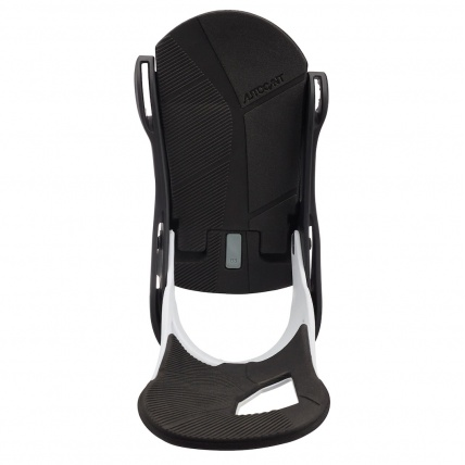 Burton Cartel Re:Flex White Black Snowboard Binding base plate