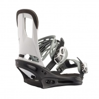 Burton - Cartel Re:Flex White Black Snowboard Binding
