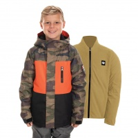 686 - Boys Smarty 3-in-1 Dark Camo Insulated Jacket