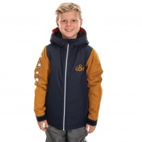 686 - Boys Forest Navy Colourblock Insulated Jacket