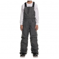 686 - Youth Sierra Insulated Bib Pants Grey Melange