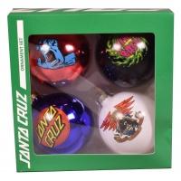 Santa Cruz - Christmas Glass Baubles