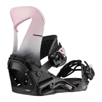 Salomon - Hologram Black Pink Womens Snowboard Bindings