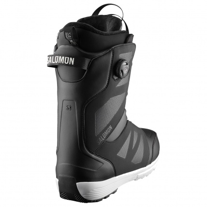 Salomon Launch BOA SJ Boa Black Mens Snowboard Boots