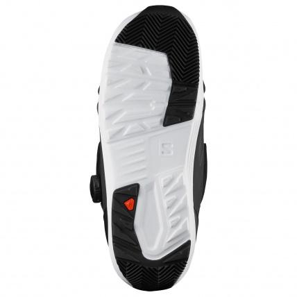 Salomon Launch BOA SJ Boa Black Mens Snowboard Boots outsole