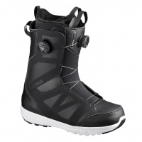 Salomon - Launch BOA SJ Boa Black Mens Snowboard Boots