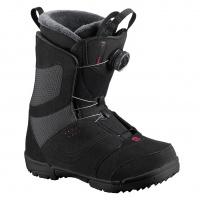 Salomon - Pearl BOA Black Womens Snowboard Boots
