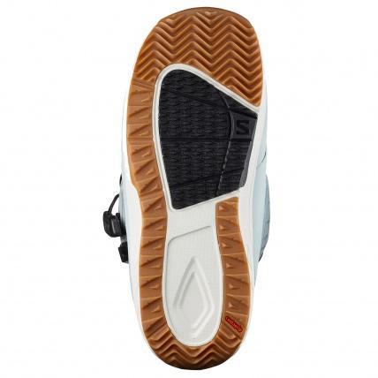 Salomon Ivy BOA SJ Sterling Blue Womens Snowboard Boot outsole