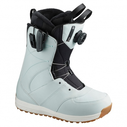 Salomon Ivy BOA SJ Sterling Blue Womens Snowboard Boot