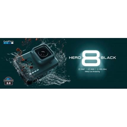 GoPro Hero 8 Black Camera Waterproof