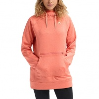 Burton - Womens Crabapple Heather Oak Pullover Hoodie