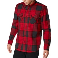 Dakine - Reid Crimson Red Tech Flannel Mens Shirt