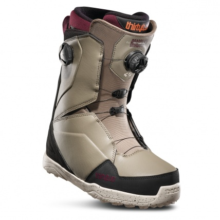 Thirty Two Lashed Double Boa Bradshaw Olive Black Mens Snowboard Boots