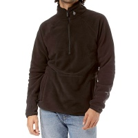 Volcom - Polartec 1/2 Zip Black Mens Fleece