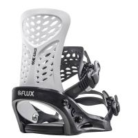 Flux - PR White Black Snowboard Bindings