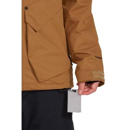 Volcom Anders 2L TDS Caramel Mens Jacket