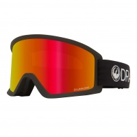 Dragon - DX3 OTG Black Luma Lens Red Ion Snow Goggles